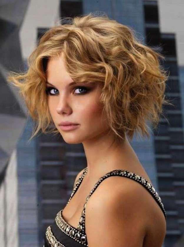 cortes de pelo rizado corto para mujeres fotos de los peinados bob cut