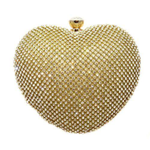 Heart Crystal Pave Hard Case Evening Clutch Handbag with Detachable Chains (Gold) CB Accessories http://www.amazon.com/dp/B00IU8A3LK/ref=cm_sw_r_pi_dp_vBoQtb0Z468JE916