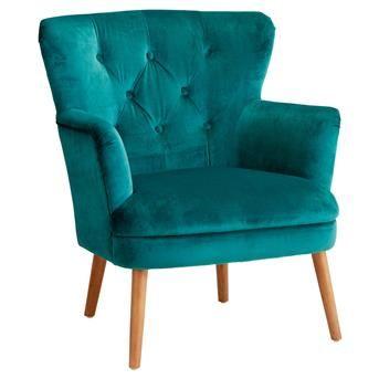 FAUTEUIL VELOURS NANTES #kwantum #najaar #nieuw #stoel #fauteuil #KwantumNajaar