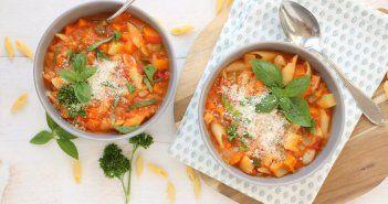 Italiaanse groentesoep (Minestrone)