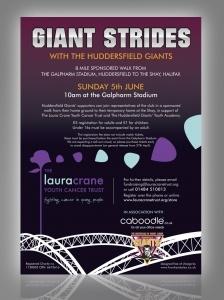 Giant Strides Leaflet Design