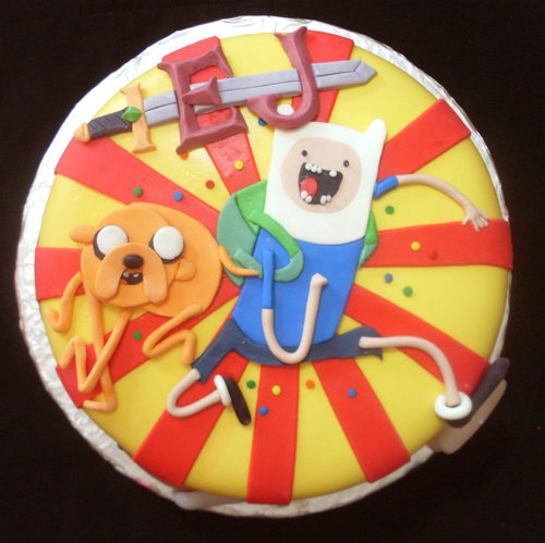 Adventure Time Cake and Cupcakes! To read more about Adventure Time visit #comiXology. #Comics #comiXology #ComicBook #Read #AdventureTime