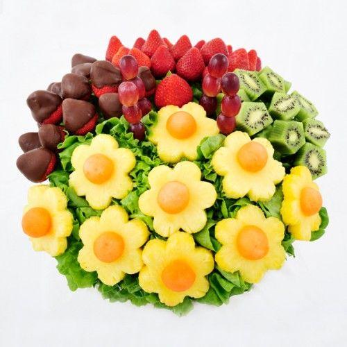 Large Mixed Sharer fruit Bouquet