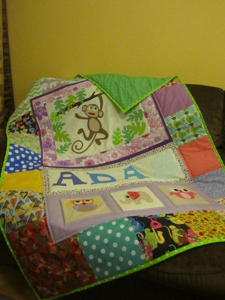quilt for Adaś 120x160 cm