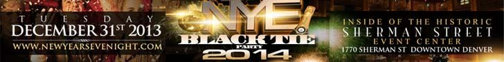 New Years Eve in Denver 2014 This year Dream Entertainment Group and KS107.5 are excited to present Downtowns most upscale and diverse New Y...