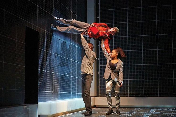 The Curious Incident of the Dog in the Night-Time National Theatre, London. Designer: Bunny Christie