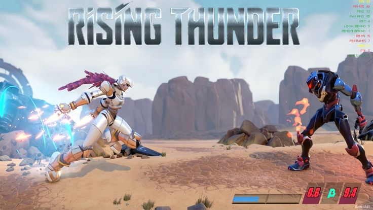 RISING THUNDER Gameplay Free To Play Fighting game