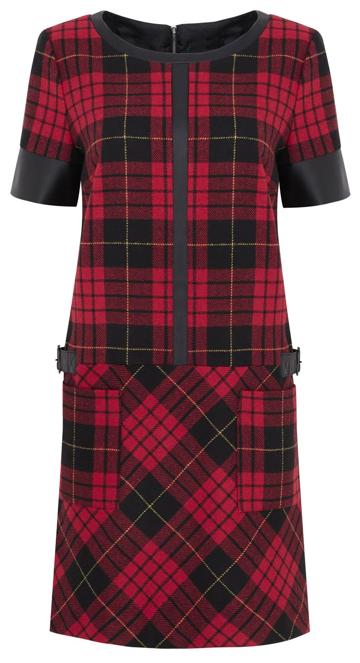 Tartan Trend - Limited Edition Tartan Dress, £45, M&S http://www.marksandspencer.com/