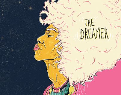 "Check out new work on my @Behance portfolio: ""The Dreamer"" http://be.net/gallery/31341177/The-Dreamer"