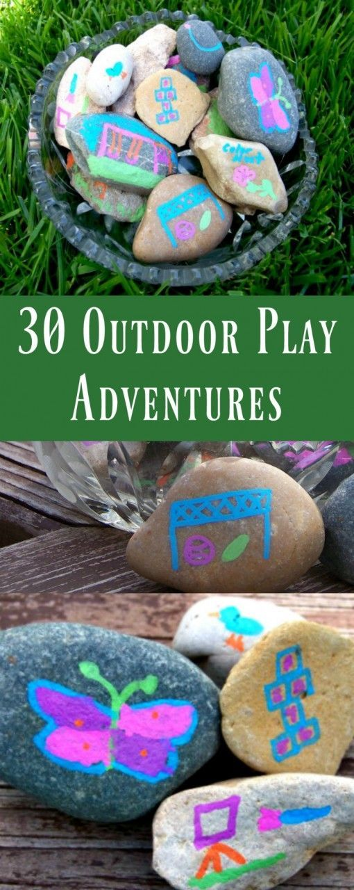 30 Things to do Outside Easy