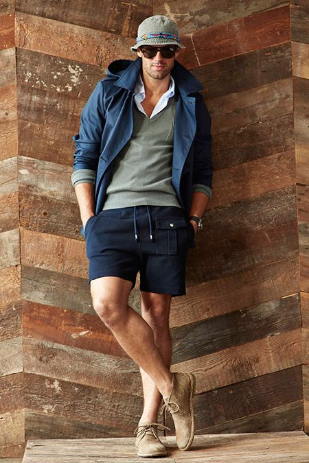 NO to that fisherman' hat tho.... ☝️☝️ Michael Bastian Spring-Summer 2015 Men's Collection