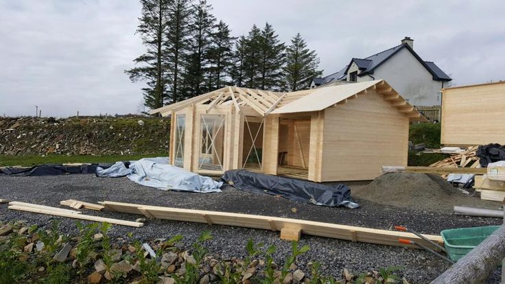 Residential Log Cabin Build Ireland