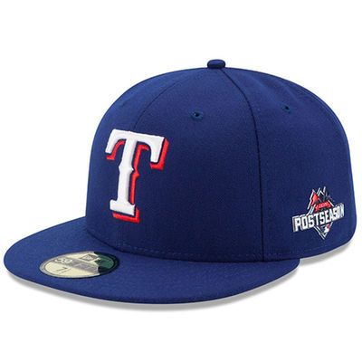 Rangers New Era 2015 Authentic Collection Postseason Side Patch 59FIFTY Fitted Hat – Royal  This is a beautiful hat to wear for Rangers playoffs this year.   #mlb #baseball #texasrangers #nevereverquit