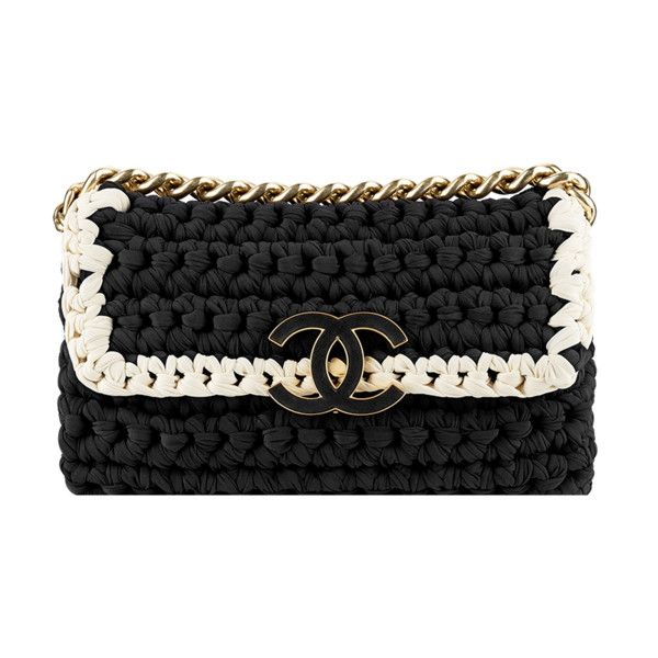 flap bag ❤ liked on Polyvore featuring bags, handbags, borse, chanel, crochet hand bag, man bag, macrame purse, flap bag and crochet handbags