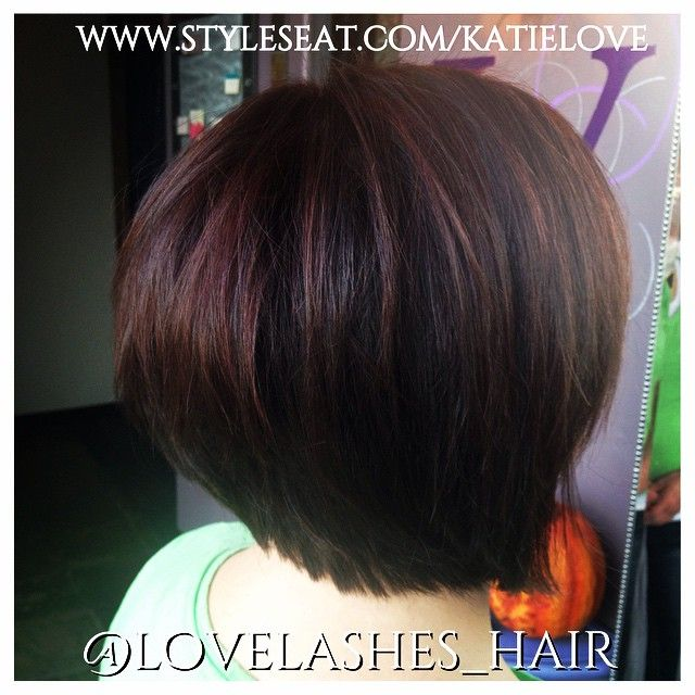 Another angle! #utah #utahhair #utahhairstylist #slchair #slchairstylist #hair #haircolor #brunette #redken #red #follow #followme @klove121 call or text to schedule, or book online! Www.facebook.com/katielove #gethaird