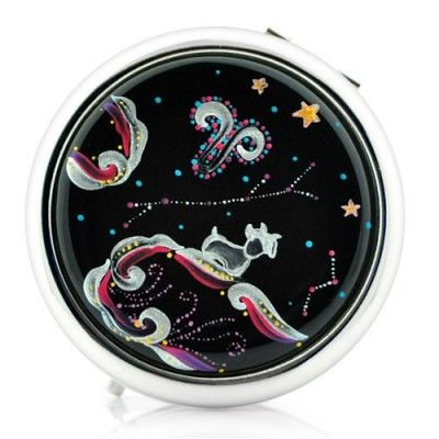 Double Sided Makeup Pocket Mirror (Aries)