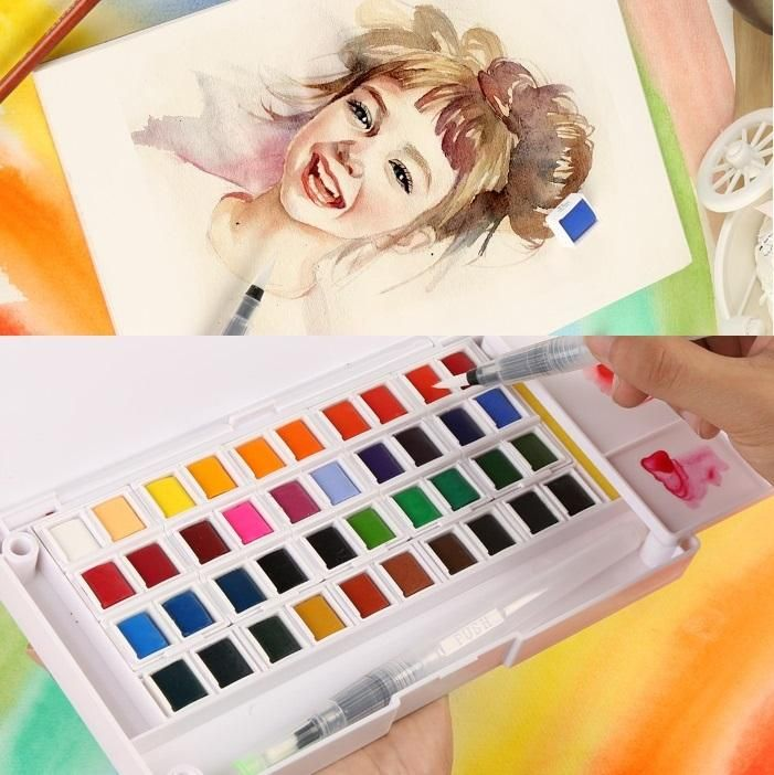 Travel Watercolor Set Free Shipping Worldwide In 2020