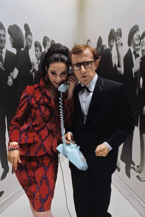 Woody Allen - Mademoiselle December 1965
