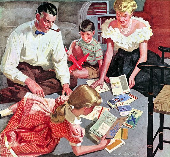 The Children of Snobs -The Book of Life  1950s Family Life