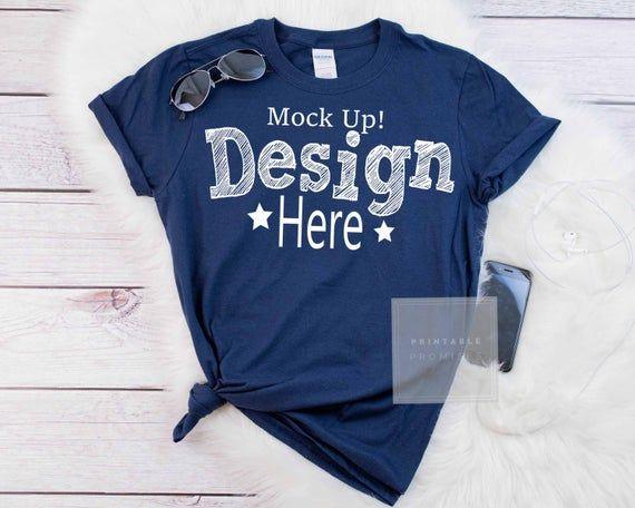 Download Gildan Navy Shirt Mockup Gildan Mock Ups Flatlay Mockup Etsy Shirt Mockup Photography Shirts Mockup Free Psd