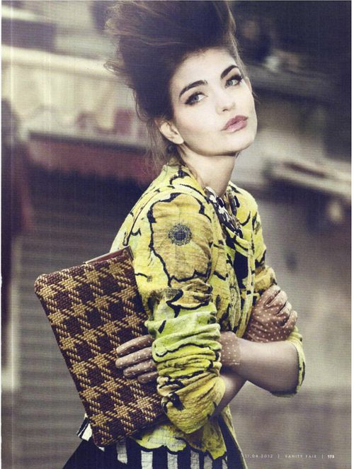 Valériane Le Moi | Signe Vilstrup | Vanity Fair Italia April 2012 | Le Leggi del Mercato