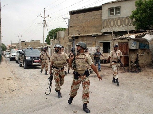 Rangers ask for installation of Bio metric system for NA 246 Election