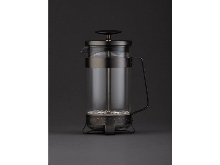 Konvice french press BARISTA&Co 8 Cup GunMetal | černý. French press s…