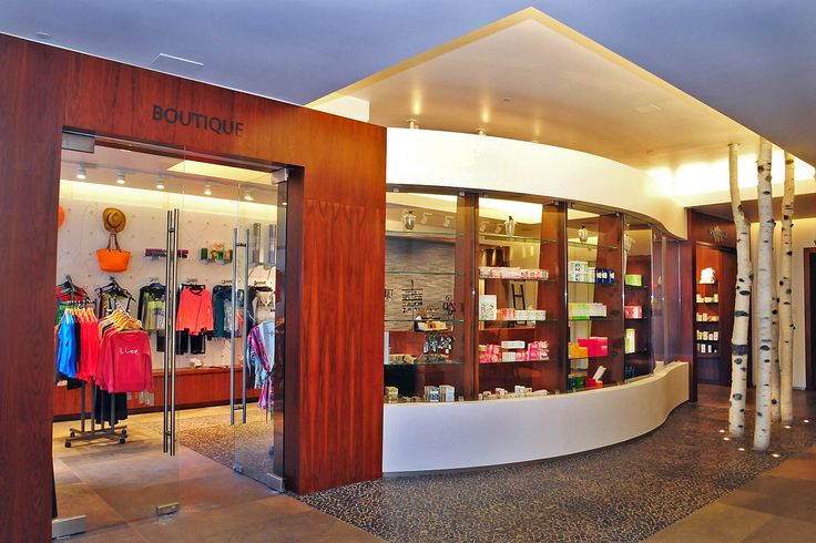 Our newly remodeled Spa Anjali Boutique offers fitness gear, swimwear, skincare and more!