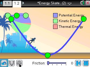 Hit the skate park to explore the affect of friction on kinetic energy and potential energy. #science #activity