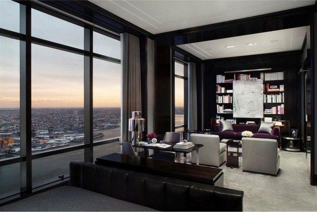 featured, modern penthouse Trump World Tower, Trump World Tower, Trump World Tower apartment for sale, Trump World Tower luxurious penthouse, Trump World Tower penthouse, Trump World Tower penthouse for sale - http://architectism.com/modern-penthouse-in-the-trump-world-tower/