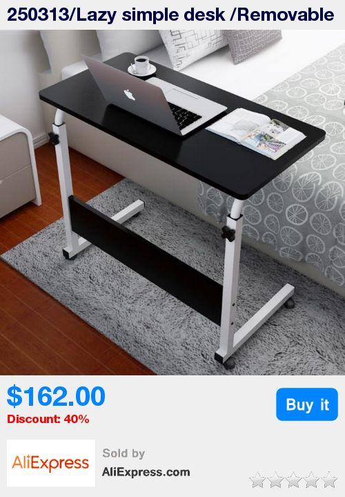 250313/Lazy simple desk /Removable bed computer desk/Multi - functional design /lift folding table/Paint steel pipe/ * Pub Date: 21:24 Jul 13 2017