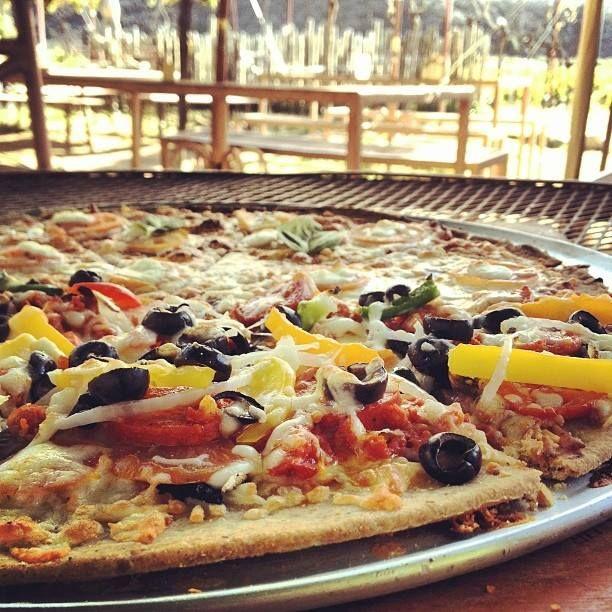 #pizza a la #leña #viñedos #ensenada
