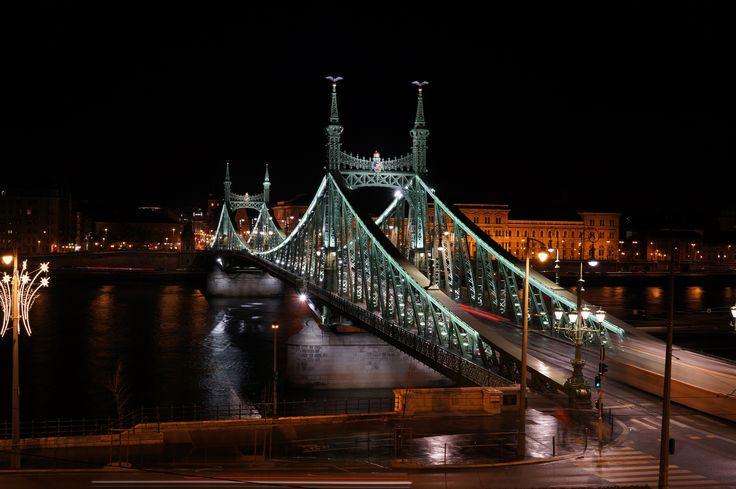 Фотография Liberty Bridge, Budapest (1896) автор Econ-click  на 500px