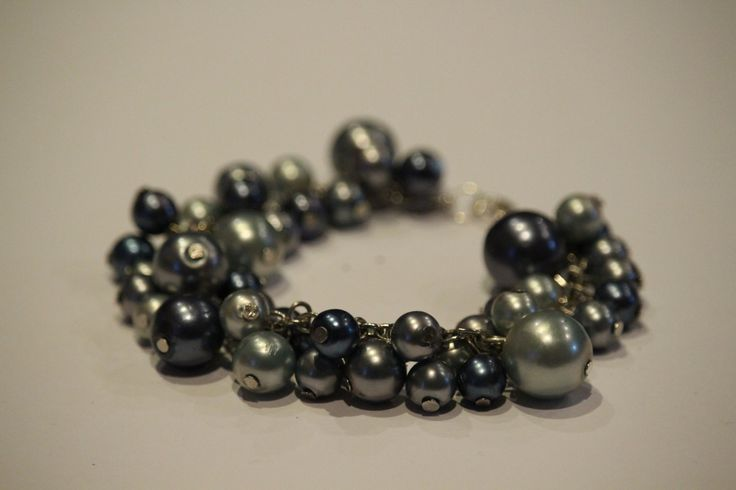 pearl bracelet by 1OfakindHomemade on Etsy