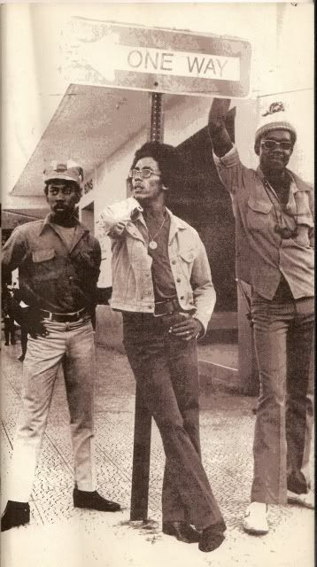 Bunny Livingston, Bob Marley, Peter Tosh: The Wailers