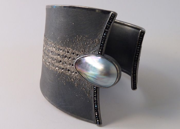 Michael Zobel cuff. Jewelry that inspires. For more followwww.pinterest.com/ninayayand stay positively #inspired