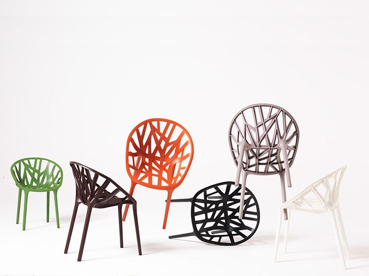 The Vegetal Stackable Plastic Chair By Erwan U0026 Ronan Bouroullec For Vitra,  ~$650 Each