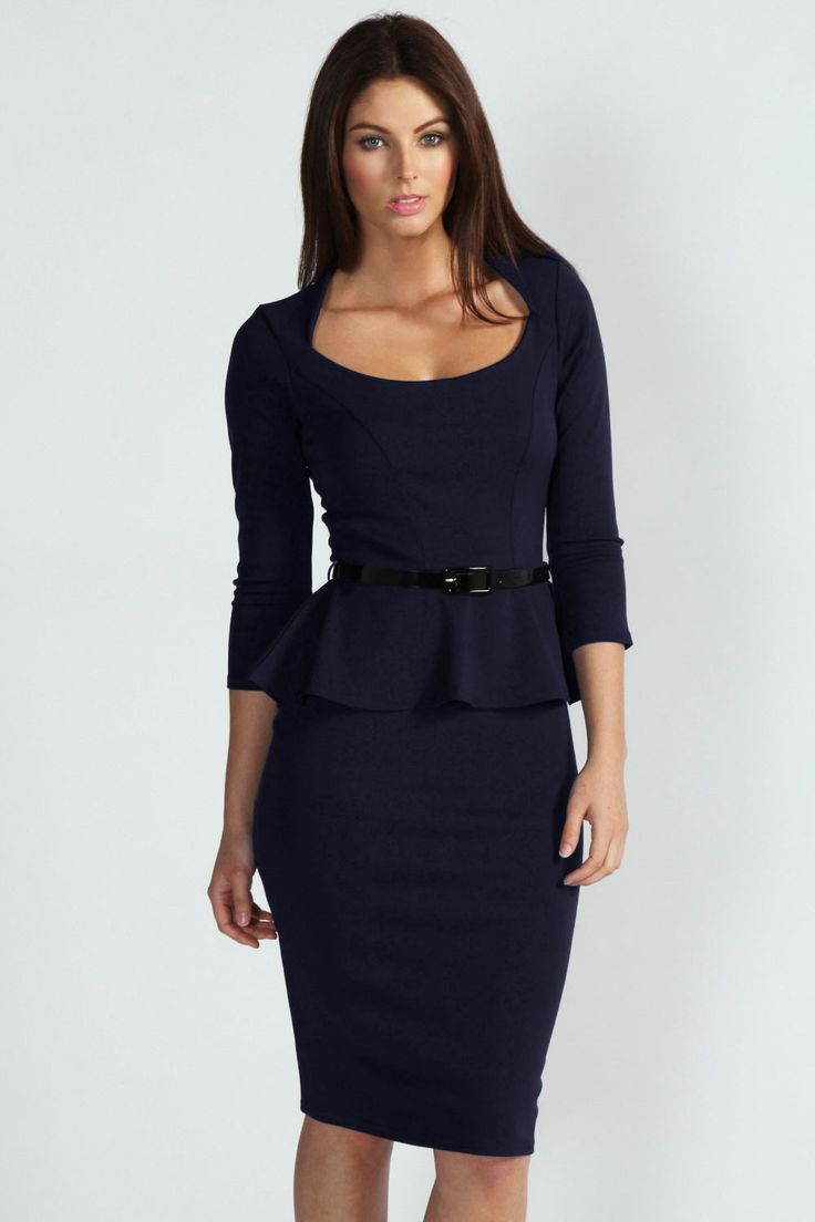 15 best Appealing Work Dresses Knee Length images on Pinterest ...