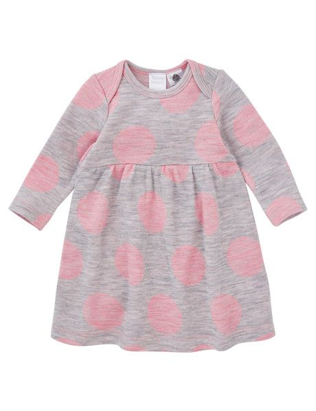 Teeny Weeny Merino Wool Long Sleeve Spot Dress product photo