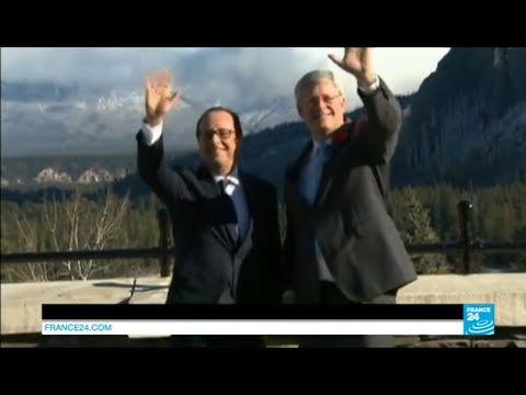 La Politique François Hollande à la conquête de l'Ouest canadien - http://pouvoirpolitique.com/francois-hollande-a-la-conquete-de-louest-canadien/