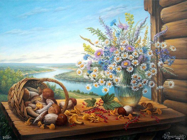Картины (живопись) : Летом в Поленово. Автор Владимир Княгницкий