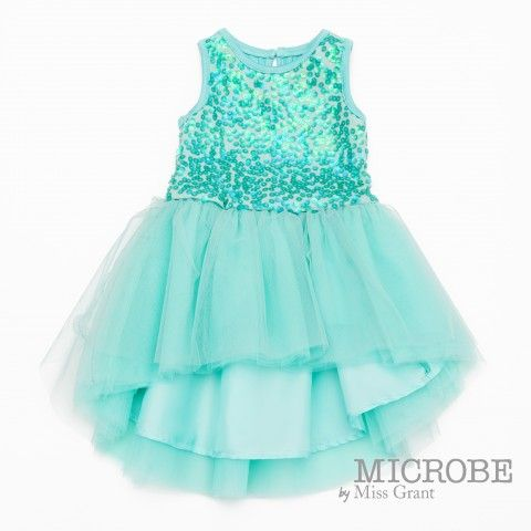 MICROBE by #missgrant DRESS WITH SEQUINS AND TULLE SKIRT. Sale 50% off Spring&Summer Collection! #discount