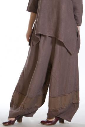 Linen Dimension Pant UnPrinted : Blue Fish Clothing