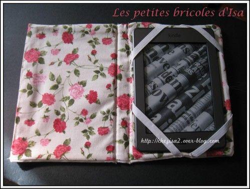 [Couture] DIY : Fabriquer une housse pour Kindle. - Mes petites bricoles