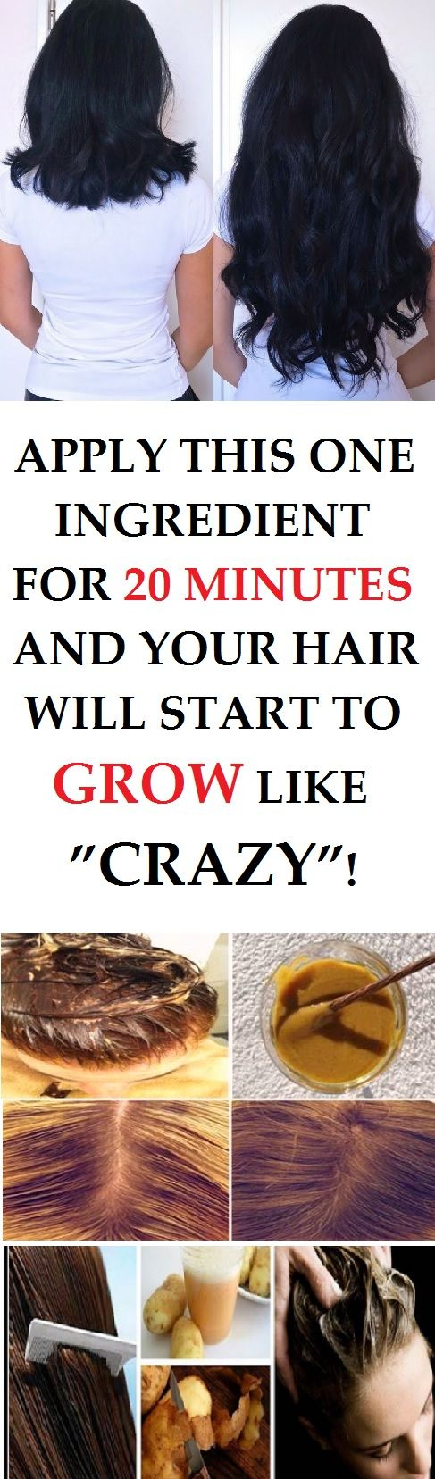 This is a homemade recipe that will make your hair grow really quickly and includes only one ingredient that you already have in your home.