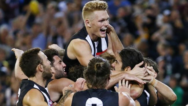AFL 2016: Collingwood defeats Richmond by 1 point at MCG in Round 2 | HeraldSun