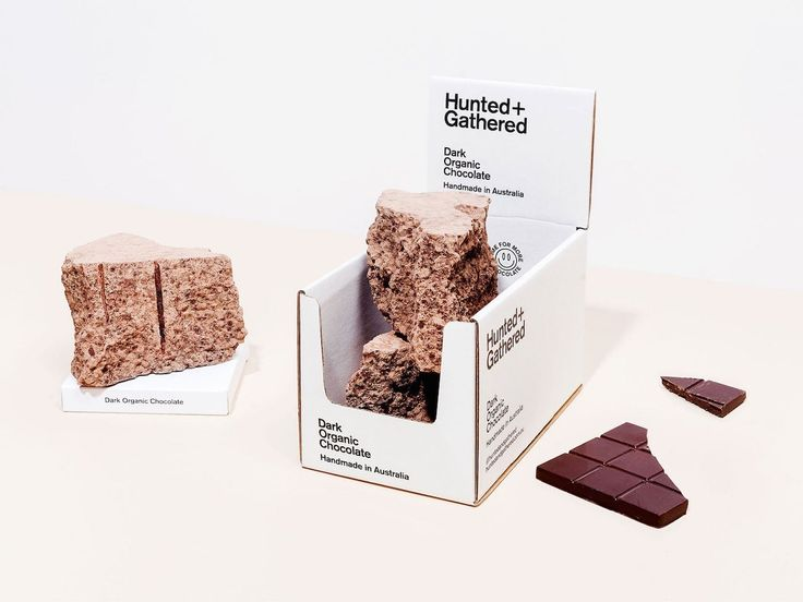 Hunted & Gathered Chocolate by Tristan Ceddia http://mindsparklemag.com/design/hunted-gathered-chocolate/