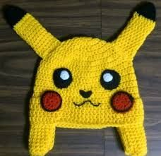 Resultado de imagen para pikachu tejido a crochet