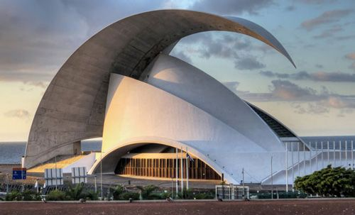 The Auditorio de Tenerife, Spain