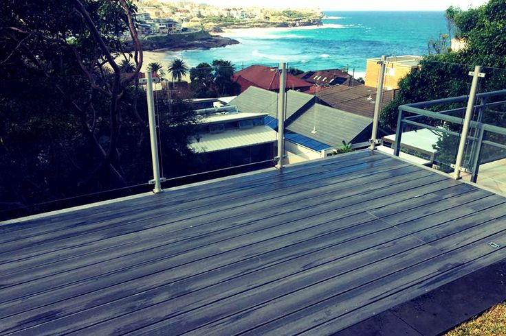 Even a glimpse of a view can be magnified when you consider a deck in the right spot. Make the most of your home's situation and have that view! #perfectview #deckingsydney #glassbalustrade #sundeck